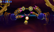 Time Eater Warping Arm Attack 3DS