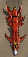 Chaotix Spaceship Above