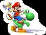 Mario and Yoshi 9