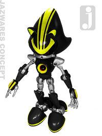 Metal Sonic 3 Jazwares