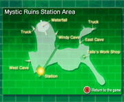Mystic Ruins Station Area