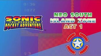 Neo South Island Zone Act 1 - Sonic Pocket Adventure