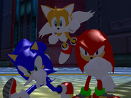 Result Screen - Final Fortress - Team Sonic