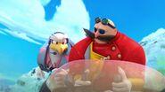 S1E15 Eggman and Eagle fly