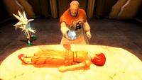 Sonic 2006 - Iblis siendo paralizado