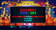 Sonic Colors Wii Game Land Menu