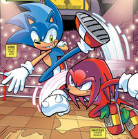 Sonic Knuckles Champions
