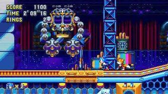 """Sonic Mania PC - Unused Boss """"EggJanken"""" or Janken Capsule - Full Boss Fight!-0"""