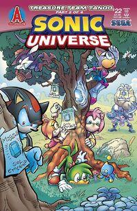 Sonic Universe Numero 22