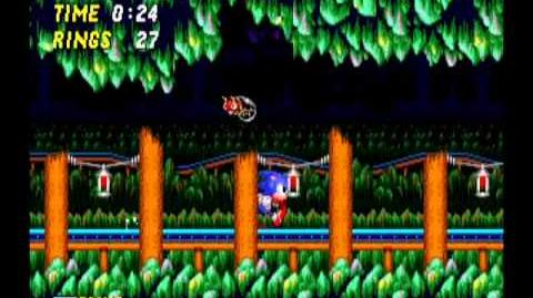 Sonic the Hedgehog 2 Mystic Cave Act 1
