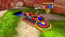 Bobsled gameplay