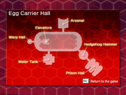 Egg Carrier Hall map
