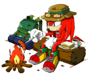 Knuckles - Sonic Channel (1)