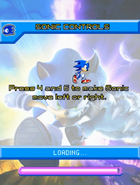 Moving Sonic Unleashed Mobile
