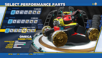 Omega Legendary Mech Tracks Wheels