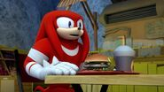 S1E46 Knuckles Meh Burger night