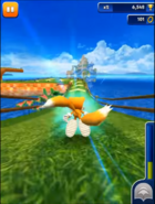 Tails in Sonic Dash