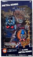 Tomy Collector Series Metal Sonic figure comic pack