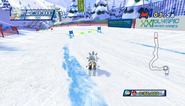 Mario Sonic Olympic Winter Games Gameplay 131