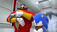 SB S1E26 Eggman controller active Sonic