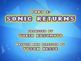 Sonic Returns
