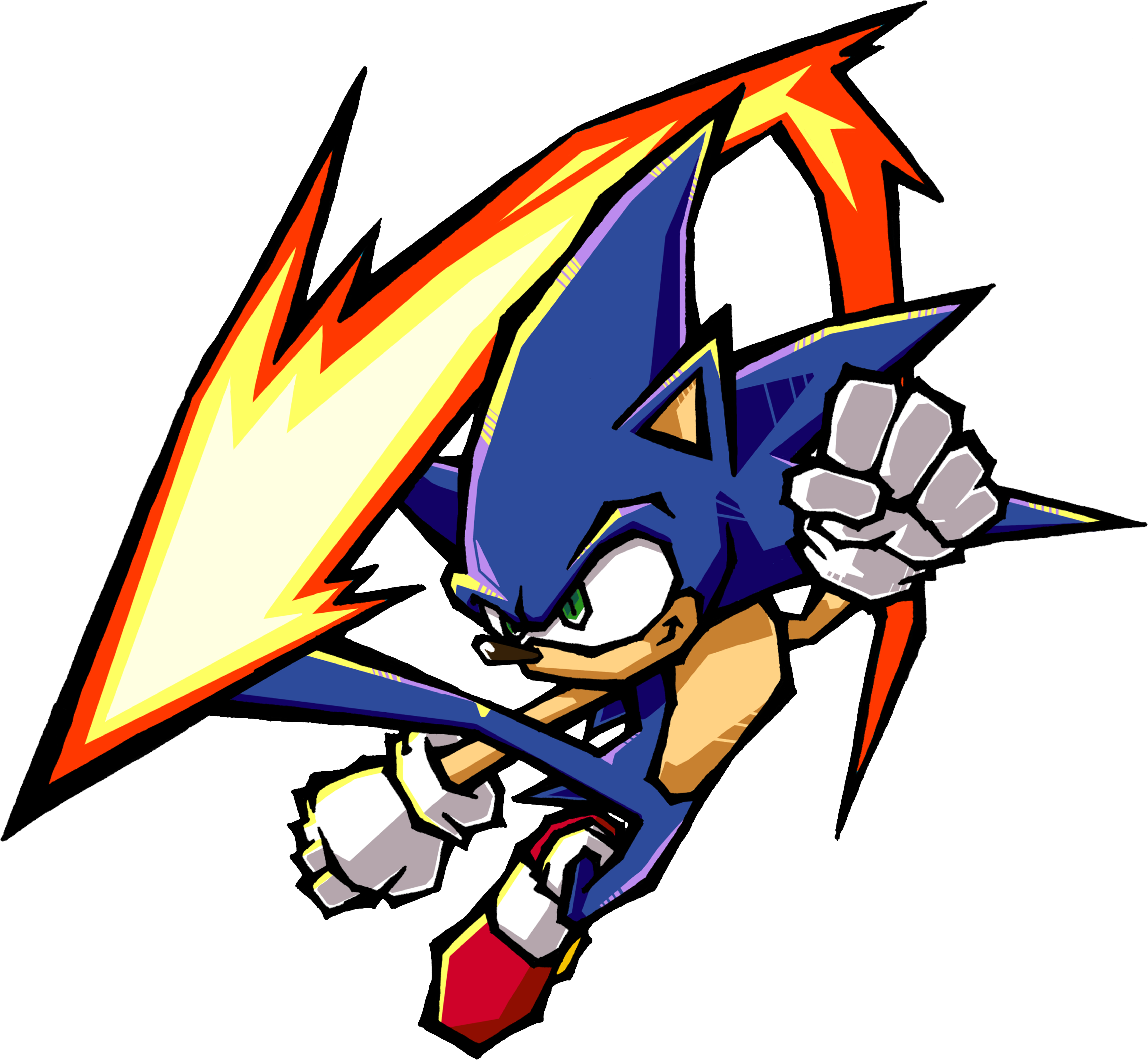 Gambar Kartun Sonic Knuckles: Sonic Battle/Gallery