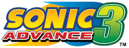 Sonic Advance 3 EN logo