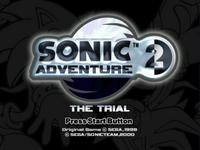 Sonic Adventure 2 Trial 2
