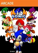 Sonic the Fighers XBLA Box