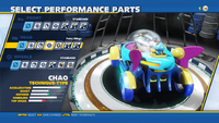 Chao Fairy Wings Rear