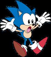 Classic Sonic Fall Down
