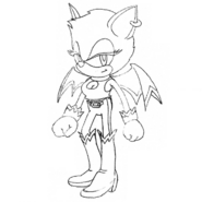 Early Rouge concept artwork