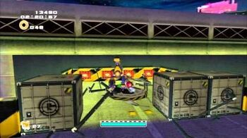 Sonic Adventure 2 (PS3) Mission Street Mission 1 A Rank