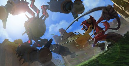 Sonic Forces arte