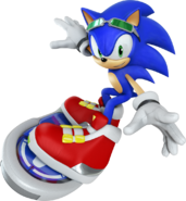Free Riders Sonic 3