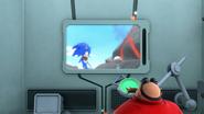 S1E03 Lair monitor Sonic