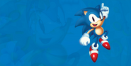 Sonic Mania Sonic background