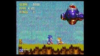 Sonic the Hedgehog 3 Boss 2 - Flame Mobile