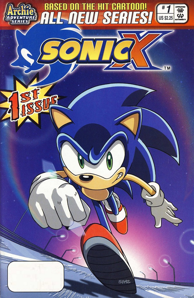 Image result for sonic x comic series