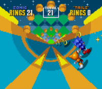 Specjalny poziom sonic 2
