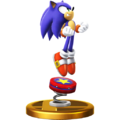 Trophy 611 - Sonic (Alt.) (SSB for Wii U)