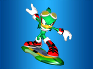 Jet (Sonic Riders - Heroes Story - Cutscene 2)