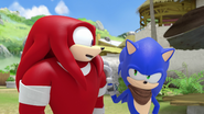 Knuckles and sonic