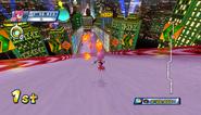 Mario Sonic Olympic Winter Games Gameplay 199