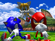 Result Screen - Seaside Hill - Team Sonic