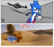 Sonic-Storyboard-Matt-Jones-Egypt