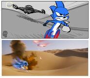 Sonic-Storyboard-Matt-Jones-Egypt