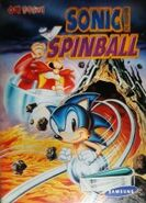 SonicSpinball MD KR cover