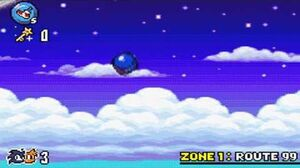 Sonic Advance 3 - Zone 1 Route 99 - Act 1 2 3 & VS Boss-0