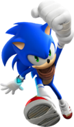 Sonic Boom Sonic Jump Running
